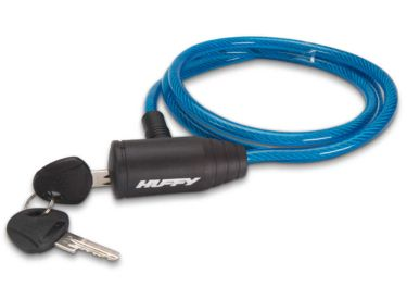 Huffy Translucent Cable Key Lock, Blue