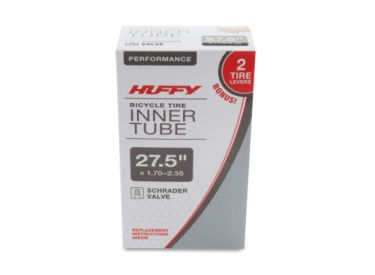 Huffy 27.5in Bicycle Tube with Two Tire Levers