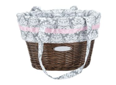 Huffy Wicker Basket with Liner