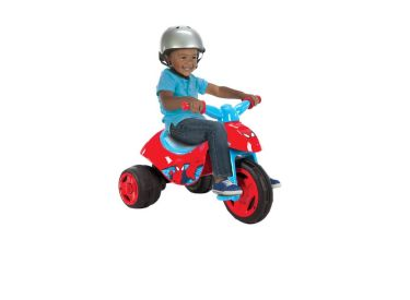 Marvel® Ultimate Spider-Man® Boys' Dual Power™ Battery-Powered Ride-On Trike, 6V