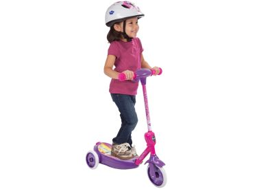 Disney Princess Girls' Bubble Scooter Electric Ride-On Toy, 6V