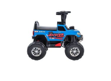 RC Monster Truck Battery-Powered Ride-On Toy, 12V
