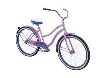 Good Vibrations™ Women's Cruiser Bike, Lavender, 26-inch