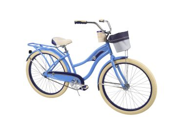 Deluxe™ Women's Cruiser Bike, Blue, 26-inch