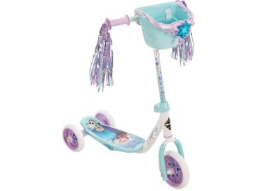Disney Frozen Girls' Preschool Toddler Scooter, Bin, Blue