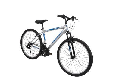 Highland™ Men's Mountain Bike, Silver, 26-inch