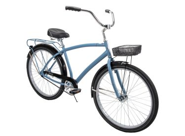 Nassau™ Men's Cruiser Bike, Blue, 26-inch