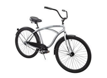 Cranbrook™ Men's Cruiser Bike, Silver, 26-inch