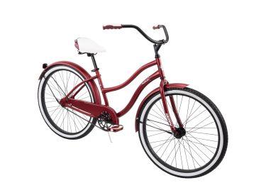Cranbrook™ Women's Cruiser Bike, Red, 26-inch