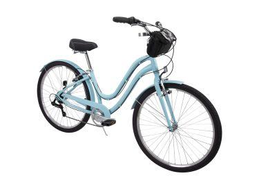 Parkside™ Women's 7-Speed Comfort Bike, Blue, 27.5-inch