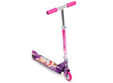 Disney Princess Kids' Folding Inline Scooter