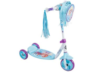 Disney Frozen Girls' Preschool Toddler Scooter, Bag, Blue