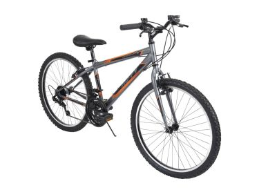 Granite™ Men's Mountain Bike, Gray, 24-inch