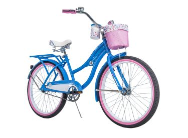 Deluxe™ Women's Cruiser Bike, Blue, 24-inch