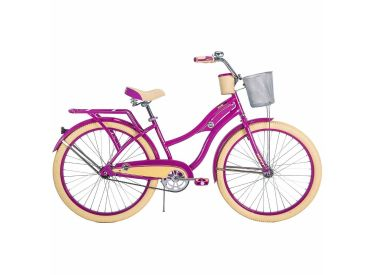 Deluxe™ Women's Cruiser Bike, Pink, 26-inch