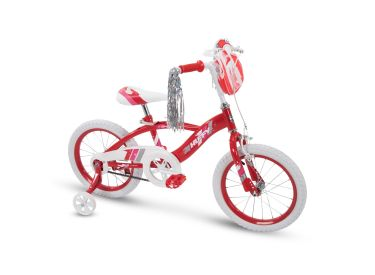 Glimmer™ Girls' Bike, Red, 16-inch