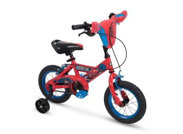 Marvel® Spider-Man® Boys' Bike, Shield, Red, 12-inch
