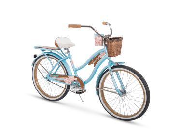 Panama Jack™ Women's Beach Cruiser Bike, Blue, 24-inch