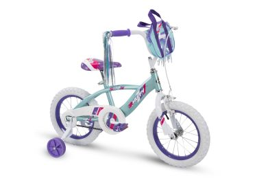Glimmer™ Girls' Bike, Blue, 14-inch
