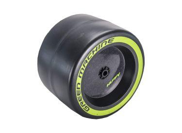 Green Machine™ Rear Wheel, Green Sidewall