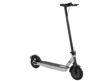 Huffy 36V Electric Folding Kick Scooter for Adults, Silver