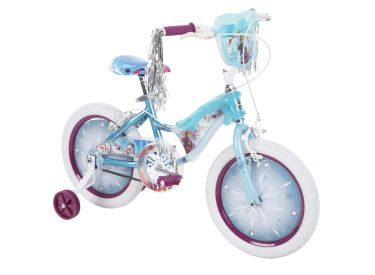 Disney Frozen 2 Girls' Bike with Lights, 16-inch