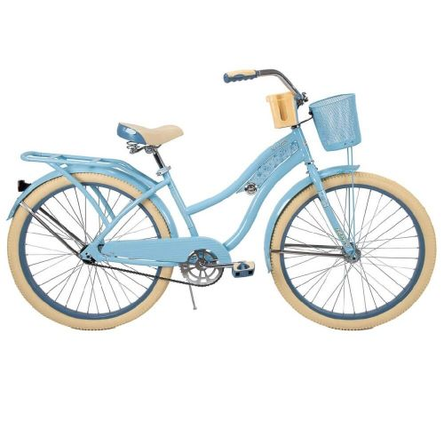 Light Blue BRAND NEW! Huffy Nel Lusso 26 inch Cruiser Women Bike