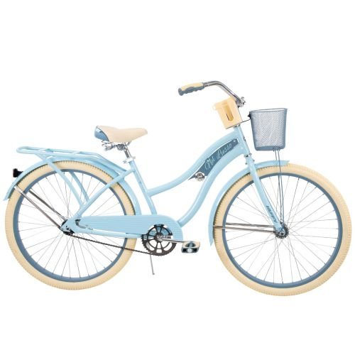 "Blue Huffy 26/"" Nel Lusso Women/'s Beach Cruiser Bike"