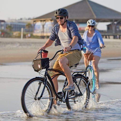 Gloss Black 26 Huffy Panama Jack Mens Cruiser Bike