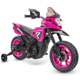 R1 Motorcycle Kids' Battery Ride-On, Pink, 6V