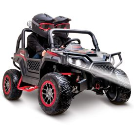 Torex™ UTV Kids' Electric Battery-Powered 2-Seat Four Wheeler, 24V