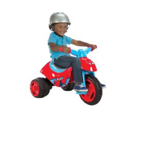 Marvel® Ultimate Spider-Man® Boys' Dual Power™ Battery-Powered Ride-On Trike, 6V