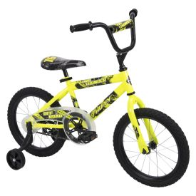 Pro Thunder™ Boys' Bike, Neon Yellow, 16-inch