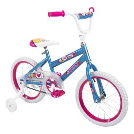 So Sweet Kids' Bike, Blue, 16-inch