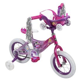 Disney Princess Girls' Bike, Pink, 16-inch