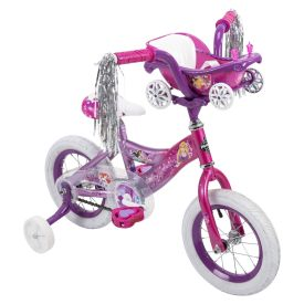 Disney Princess Girls' Bike, Pink, 12-inch
