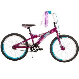 Glitzy™ Girls' Bike, Purple, 20-inch