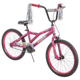 Glitzy™ Girls' Bike, Pink, 20-inch