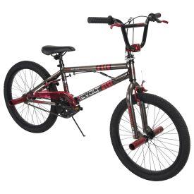 Revolt BMX-Style Kids' Bike, Metallic Gray, 20-inch