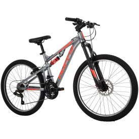 Marker™  Men's Mountain Bike, Black, 24-inch