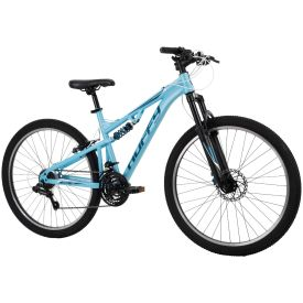 Womens Mountain Bike in light blue