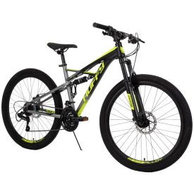 21-Speed Mountain bike with dual suspension