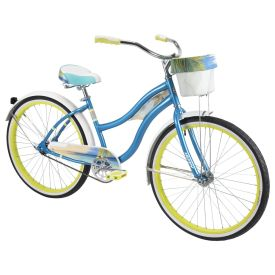 Panama Jack™ Women's Beach Cruiser Bike, Blue, 26-inch