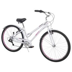 Casoria™ Women's Comfort Bike, White, 27.5-inch