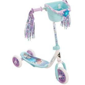 Disney Frozen Girls' Preschool Toddler Scooter, Bin, Blue