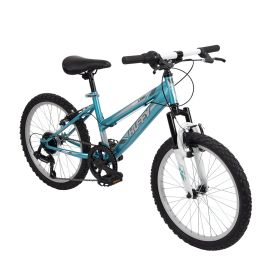 Highland™ Girls' Mountain Bike, Blue, 20-inch