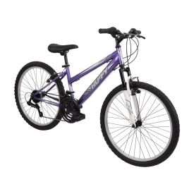 Highland Women's Mountain Bike, Purple, 24-inch
