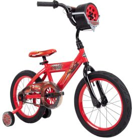 Disney·Pixar Cars Lightning McQueen EZ Build Bike, Sounds, Red, 16-inch