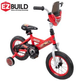 Disney·Pixar Cars Boys' Bike, EZ Build™, Red, 12-inch