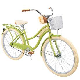 Nel Lusso™ Women's Cruiser Bike, Green, 26-inch